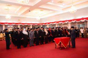 Sekda Prov Riau Kukuhkan dan Melantik Pejabat Eselon III dan Eselon IV