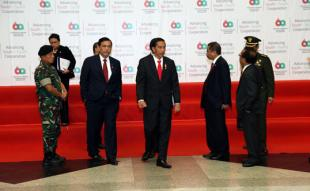 Panglima TNI Dampingi Presiden RI Tinjau Kesiapan KAA