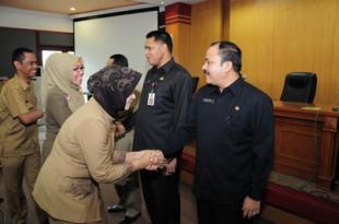 Sertijab Kepala Biro Umum dan Perlengkapan Setda Prov Riau