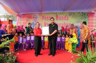 Gubri Hadiri Gebyar PAUD TK Prov Riau Tahun 2014