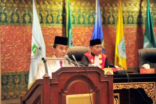 Pelantikan Anggota DPRD Prov Riau