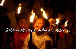 Idul Adha 1437 H