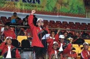 Pembukaan POPDA Riau ke 12