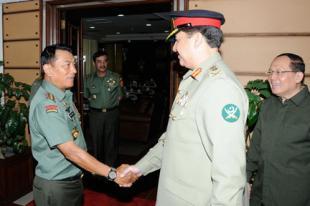 Panglima TNI terima Kasad Pakistan
