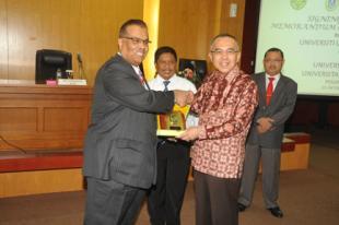 Pemprov Riau Fasilitasi MoU Univ. Utara Malaysia, Univ. Riau dan Univ. Islam Riau