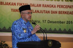 Rakor Bupati Walikota Se Provinsi Riau