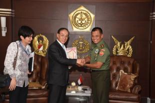 Panglima TNI Terima Duta Besar Jepang
