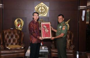 Panglima TNI Terima Duta Besar Korea