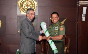 Duta Besar Pakistan Kunjungi Mabes TNI