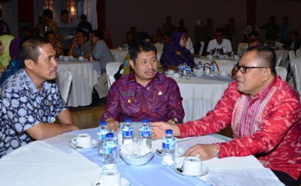Bupati Bengkalis Mendukung Program Restorasi Lahan Gambut 2 juta Hektar