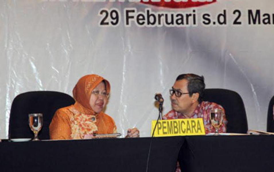Di Semarang, Syamsuar - Risma - Oded Jadi Pembicara