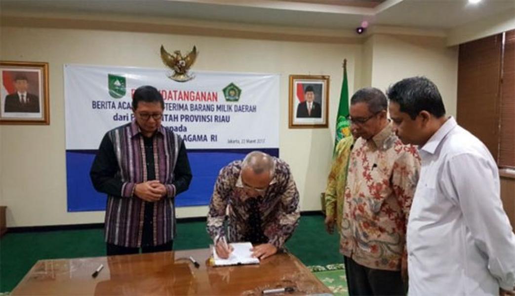 2018, Asrama Haji Antara Riau Bisa Direalisasikan