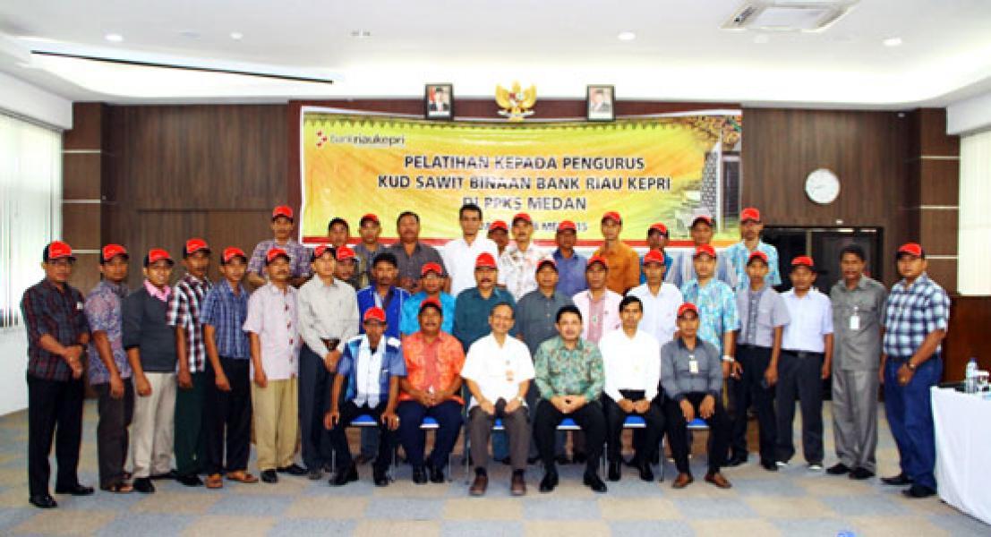 Bank Riau Kepri Beri Pelatihan 30 Petani Sawit