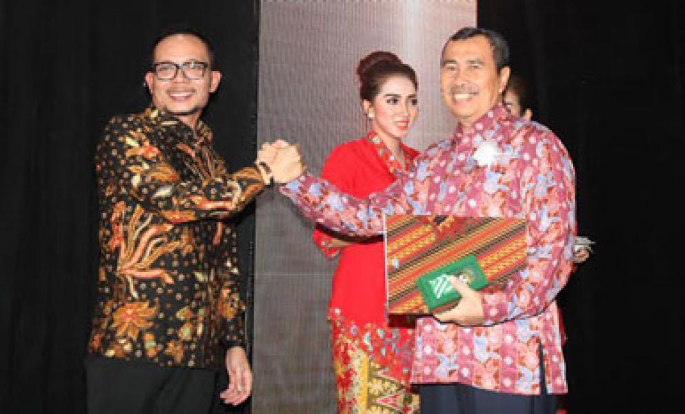 Siak Kembali Raih K3 Award dari Kementerian Tenaga Kerja RI
