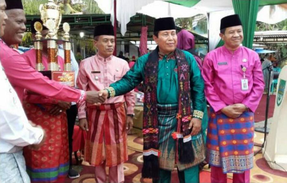 Bupati Rohul H Sukiman Buka MTQ ke-XVIII Tingkat Kecamatan Tambusai