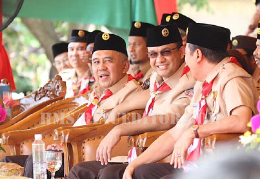 Mendiknas Anies Baswedan Buka Secara Resmi KBN di Siak