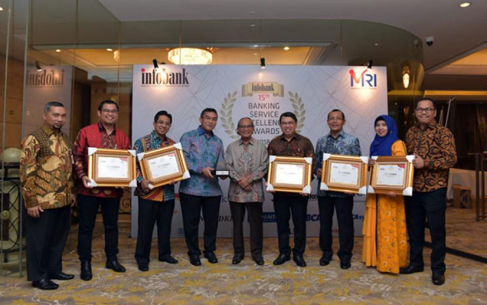 Bank Riau Kepri Raih The Best Overall Performance BPD se Indonesia 2018