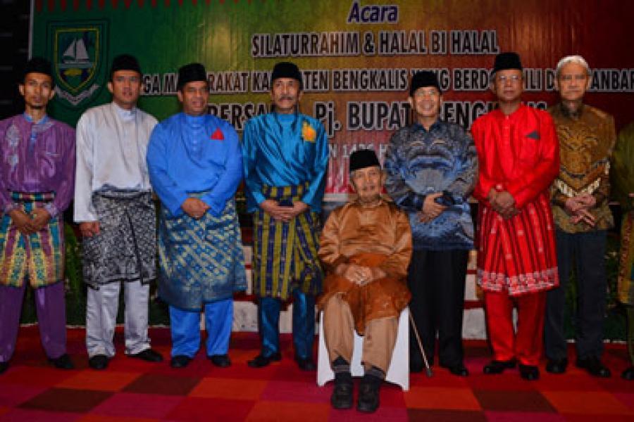 Halal Bi Halal Masyarakat Bengkalis di Pekanbaru