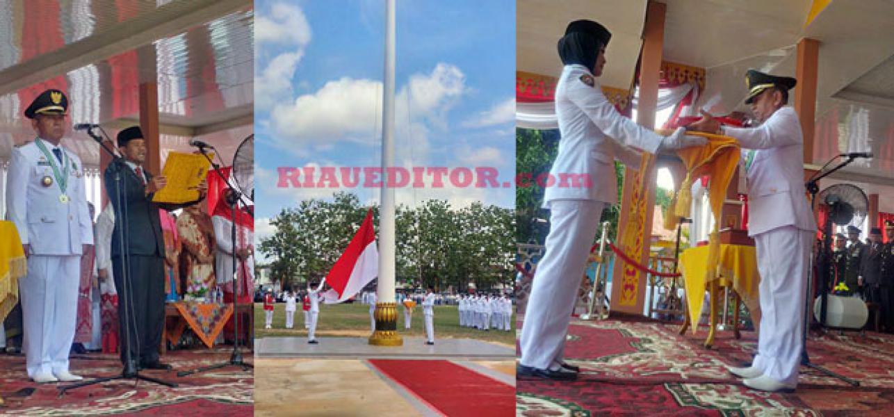 Peringatan Detik-detik Proklamasi HUT RI Ke-71 di Pelalawan Berlangsung Khidmat