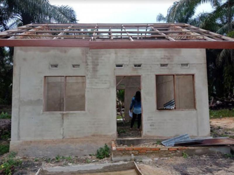 2018, Pemprov Riau Bangun 2024 RSLH di 12 Kabupaten Kota