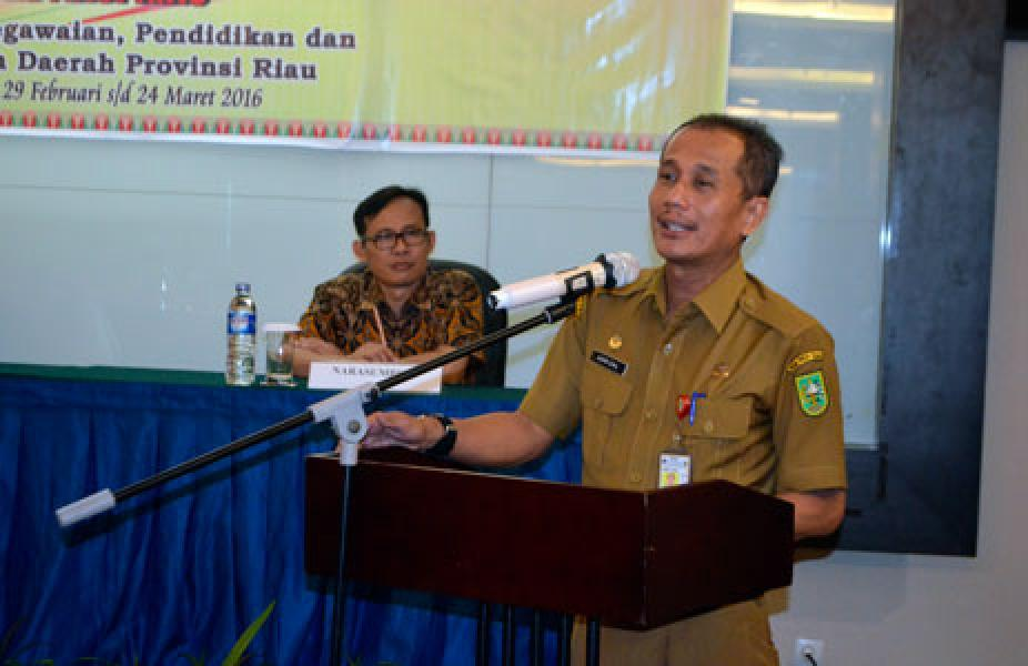 Pengembangan Assesment Centre BKP2D Riau