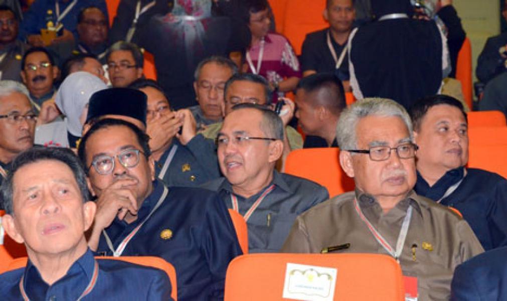 Plt. Gubernur Riau Hadiri Silatnas Bersama SBY