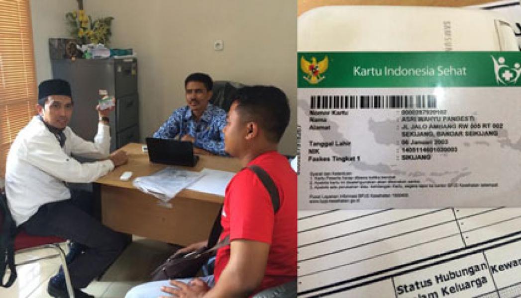 Abdullah : Lebih Dari 5 Ribu Pemegang KIS di Pelalawan Tak Aktif