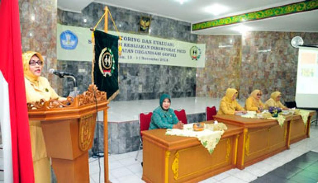 Sosialisasi Kebijakan Direktorat PAUD dan Penguatan Organisasi GOPTKI