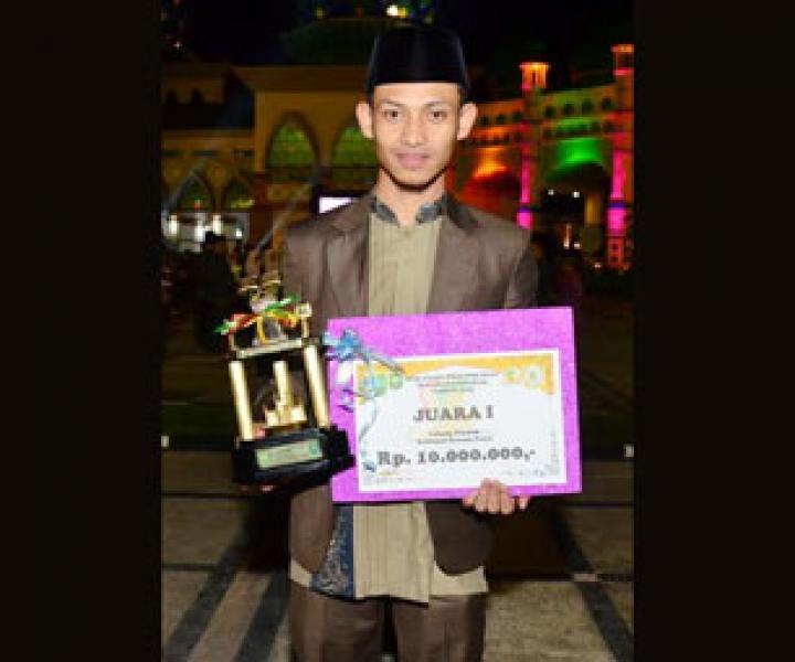 Azwan Qori Terbaik Provinsi Riau 2015