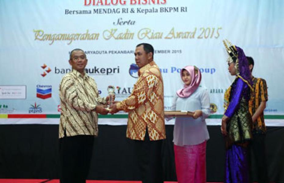 Kadin Award Bukti Kerja Keras Pemerintah dan Masyarakat