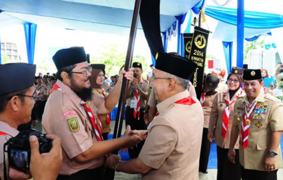 Plt Gubri Buka Musda XI Gerakan Pramuka Riau