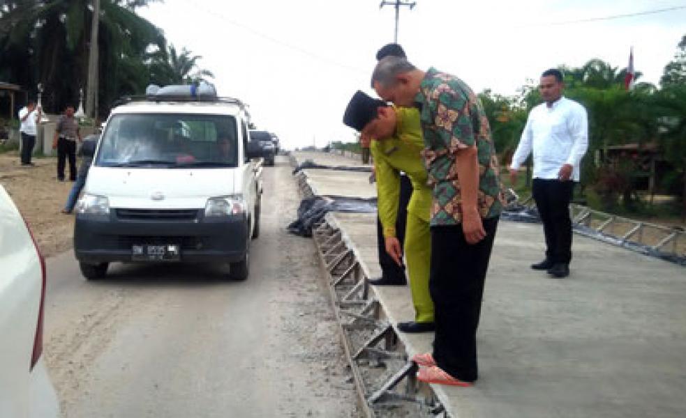 Pemprov Riau Tingkatkan Pembangunan Infrastruktur Jalan