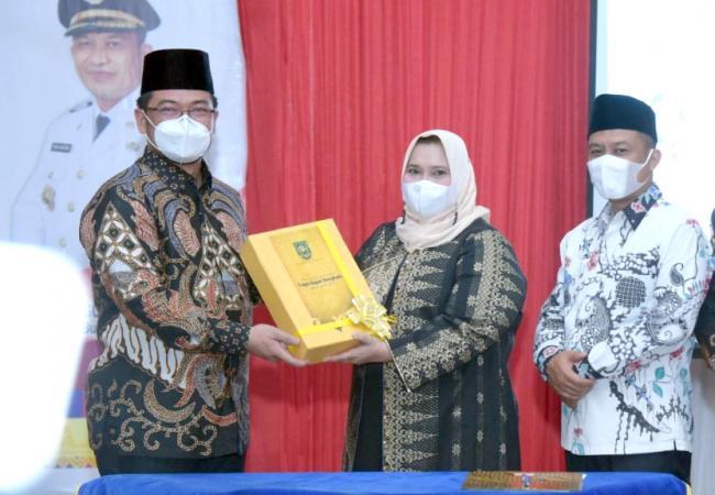 Pisah Sambut Pj Bupati dengan Bupati dan Wakil Bupati Bengkalis Terpilih