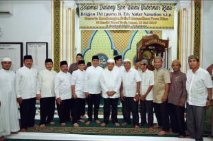 Wagubri H Edy Nasution Safari Ramadhan 1440 H / 2019 M, di Mesjid Nurul Yakin, Jl. Hang Tuah Pekanbaru.