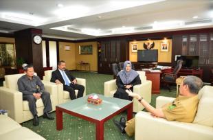 Gubri Terima Audiensi Konsul Malaysia