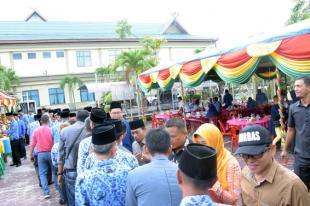 Jaga Persaudaraan, Sekretariat DPRD Kabupaten Bengkalis Gelar Halal Bihalal