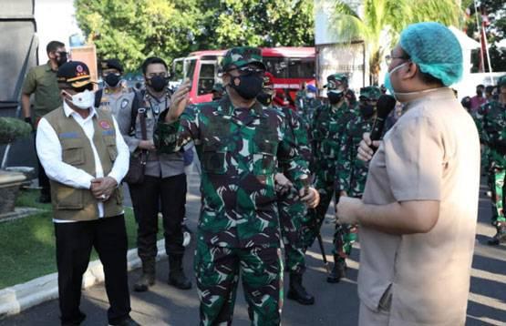 Panglima TNI: TNI-Polri Bantu Siapkan Fasilitas Isoman dan Isoter Di Setiap Wilayah