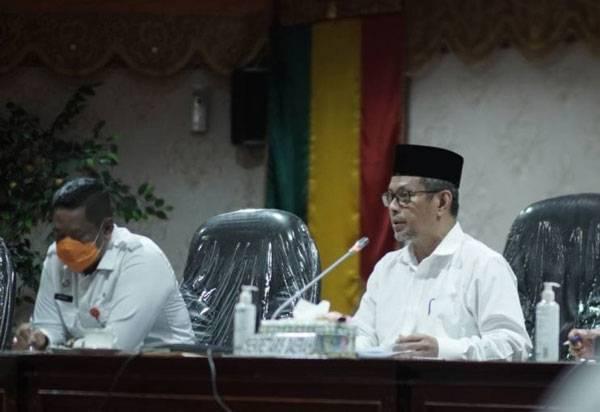 Pj Sekdaprov Riau Pimpin Rapat Teknis Persiapan Hari Jadi ke-64 Provinsi Riau Tahun 2021