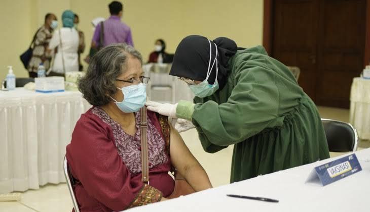 Vaksinasi di Kota Pekanbaru Telah Mencapai 454.488 Dosis Vaksin