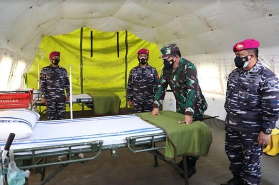 TNI Siapkan 650 Tempat Tidur Rumkitlap