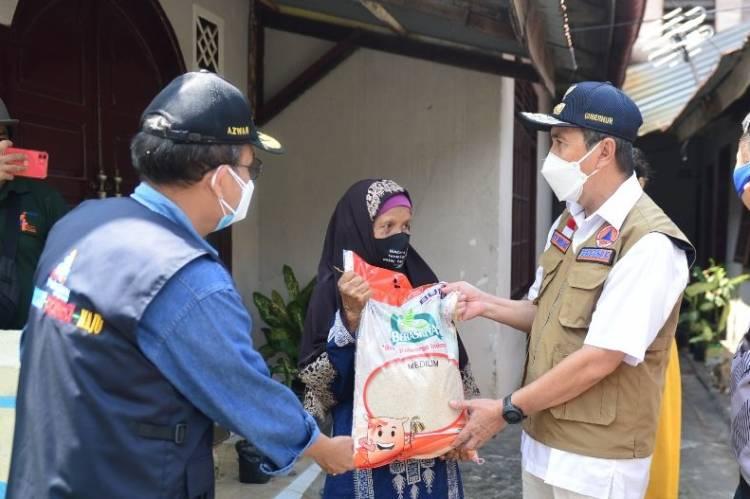 Bulog: Bantuan Beras PPKM mulai disalurkan di Riau