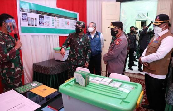 Panglima TNI Pastikan Obat Bantuan Pemerintah Terdistribusi dan Dukung 54 Nakes