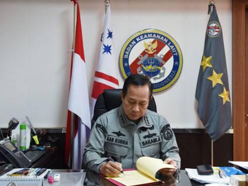 Bakamla RI-ESDM Sepaham Dalam Pengamanan Laut Indonesia