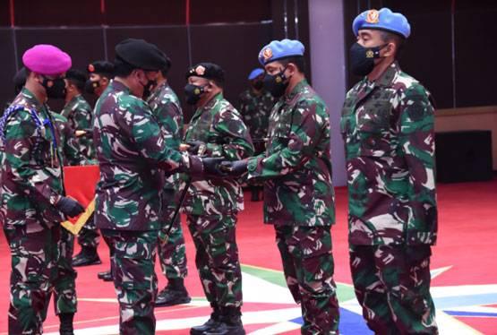 Panglima TNI Pimpin Sertijab Pangkogabwilhan I dan III serta Danpaspampres