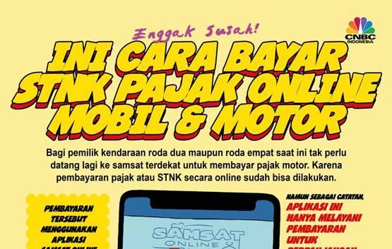 Simpel Banget! Ini Cara Bayar Pajak & STNK Mobil-Motor Online