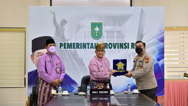 Begini Sinergi Pemprov dan Polda dalam Upaya Tangani Covid-19 di Riau