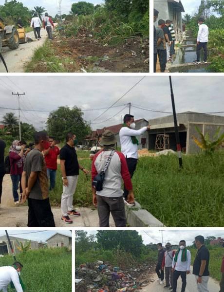 Ibukota Disorot, Bupati Zukri Langsung Turun ke Sejumlah Titik Banjir dan Tumpukan Sampah