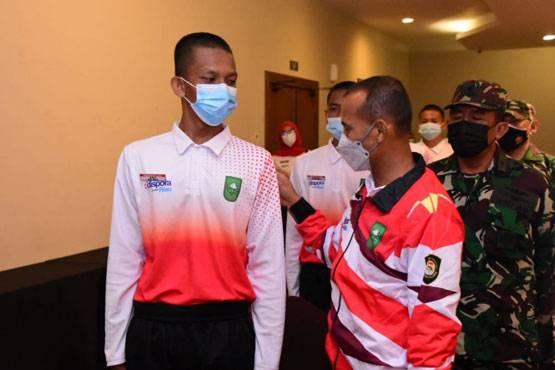 Danrem 031/WB Bekali Wawasan Kebangsaan untuk Paskibraka Riau, Ini Pesannya!