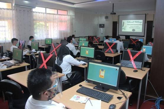 Peserta Ujian SKD CPNS Pemprov Riau Bebas Pilih Lokasi Ujian