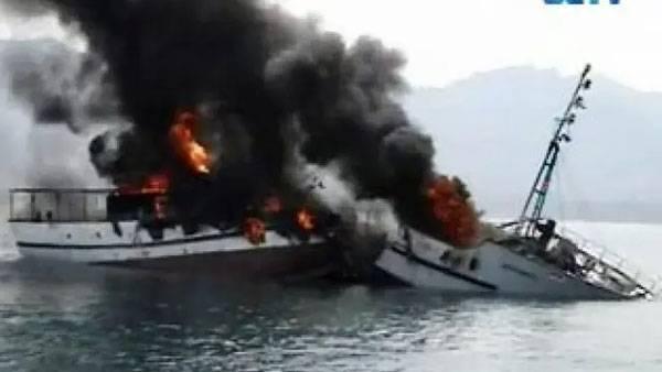 Puluhan Wisatawan Berhasil Dievakuasi dari Kapal yang Terbakar di Labuan Bajo